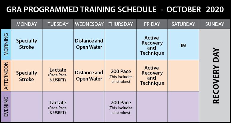 Schedule 2020-10